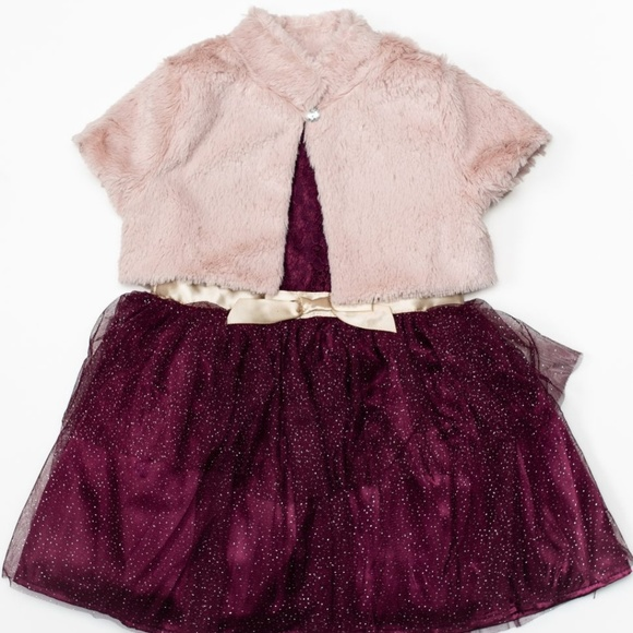 Little Lass Other - Little Lass 2pc Toddler Girl Dress 2T